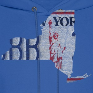 New York State License Plate Hoodies - Men's Hoodie