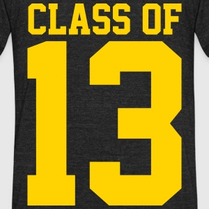 Class of 13 T-Shirts - Unisex Tri-Blend T-Shirt by American Apparel