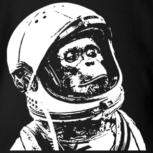 Chimpanzee Astronaut Baby & Toddler Shirts - Short Sleeve Baby Bodysuit