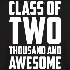 Class of Two Thousand and Awesome Hoodies - Men's Hoodie