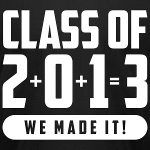 Class of 2013 We Made It! T-Shirts - Men's T-Shirt by American Apparel