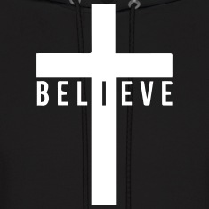 i believe cross Hoodies