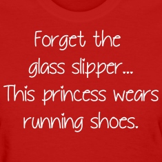 Forget glass slipper Princess wears running shoes