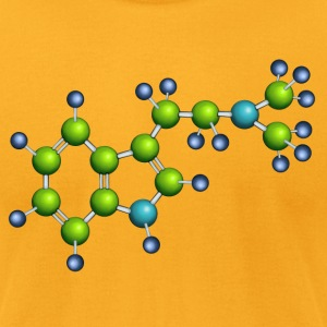 DMT molecule T-Shirts - Men's T-Shirt by American Apparel