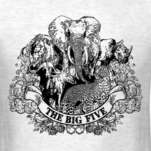 big_five game T-Shirts - Men's T-Shirt