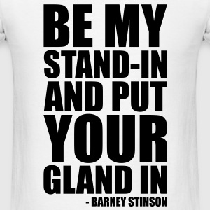 Men's Barney Stinson T-Shirt - Men's T-Shirt