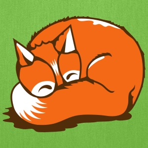 A sleeping fox Bags & backpacks - Tote Bag