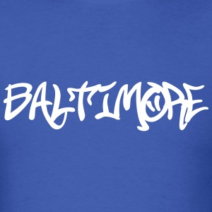 Baltimore graffiti T-Shirts - Men's T-Shirt