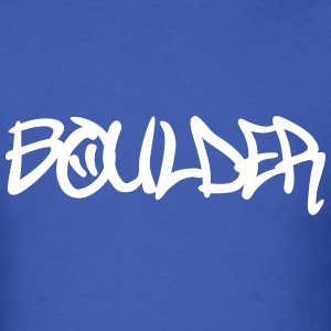 Boulder graffiti T-Shirts - Men's T-Shirt