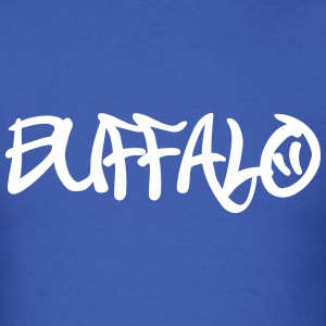 Buffalo graffiti T-Shirts - Men's T-Shirt