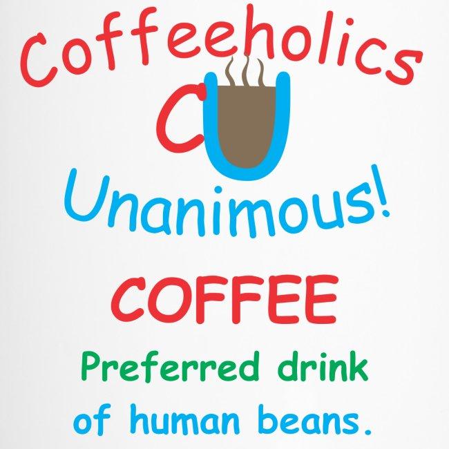 CU human beans travel mug