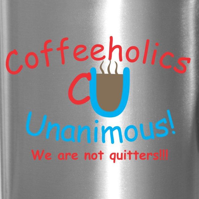 CU quitters travel mug