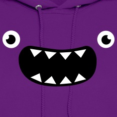 Funny Monster Face Hoodies