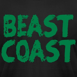 BEAST COAST T-Shirts - Men's T-Shirt by American Apparel