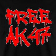 Design ~ Free AK47 Men's T-Shirt