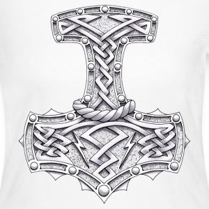 Thor's Hammer Long Sleeve Shirts - Women's Long Sleeve Jersey T-Shirt