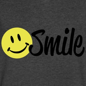 smile T-Shirts - Men's V-Neck T-Shirt by Canvas