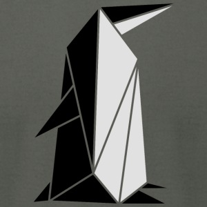 origami: penguin T-Shirts - Men's T-Shirt by American Apparel