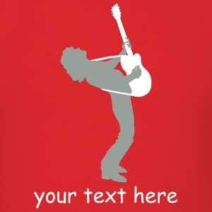 guitar player T-Shirts - Men's T-Shirt