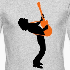 guitar player Long Sleeve Shirts