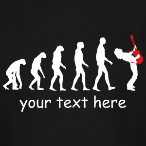 guitar player evolution T-Shirts - Men's Tall T-Shirt
