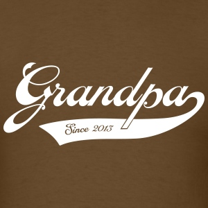 Grandpa 2013 T-Shirts - Men's T-Shirt