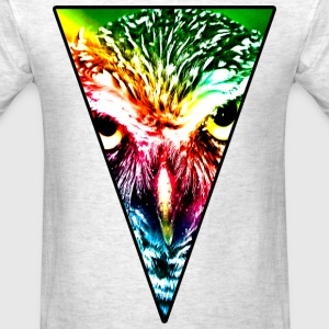 Rainbow Owl T-Shirts - Men's T-Shirt