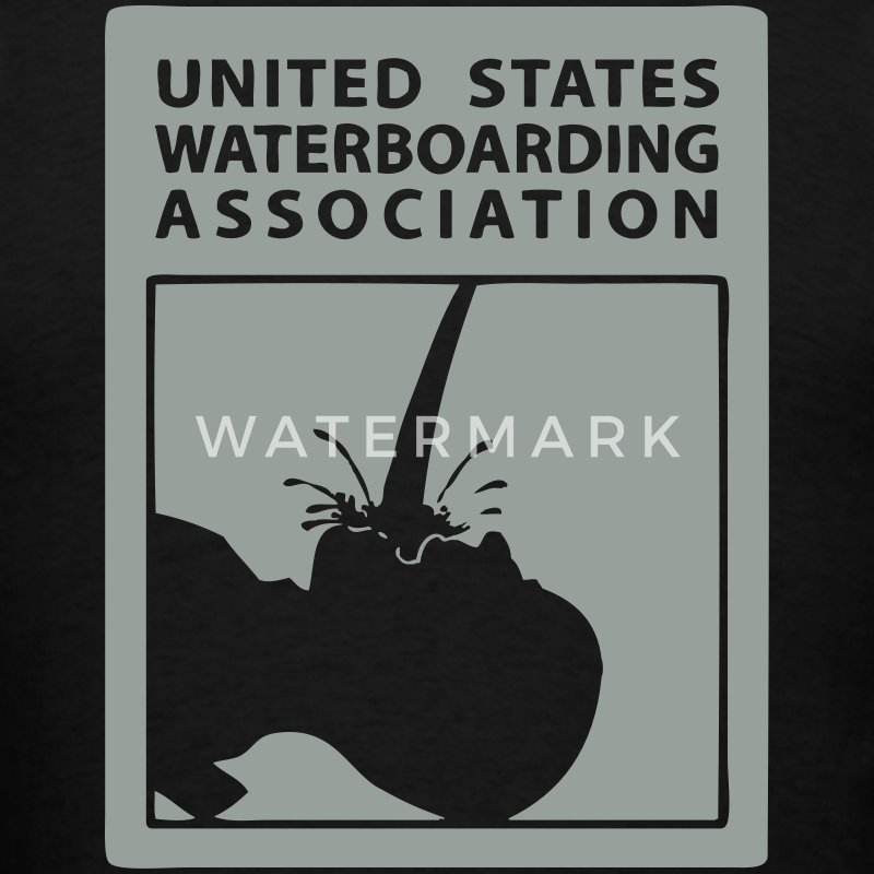 Waterboarding Association  - Men's T-Shirt