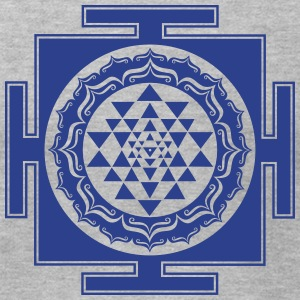 Shri Chakra Yantra -  cosmic conductor of energy T-Shirts - Men's T-Shirt by American Apparel