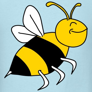 Happy Bee T-Shirts - Men's T-Shirt