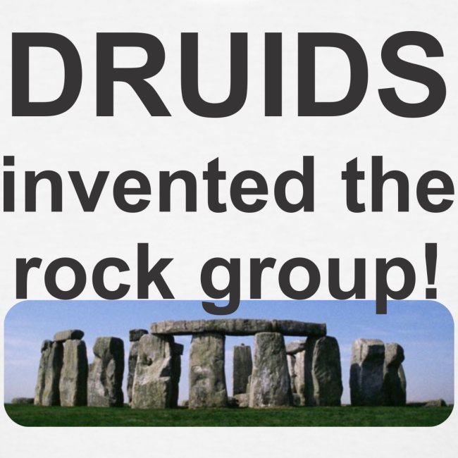 Druid rock group f