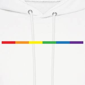 Gay Rainbow Symbol Hoodies - Men's Hoodie