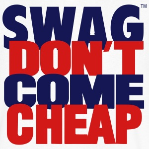 SWAG DON'T COME CHEAP T-Shirts - Men's V-Neck T-Shirt by Canvas