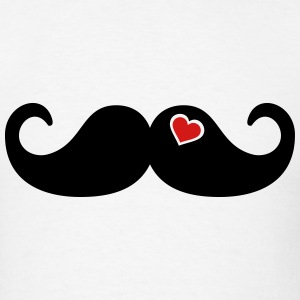 Mustache Beard T-Shirts - Men's T-Shirt