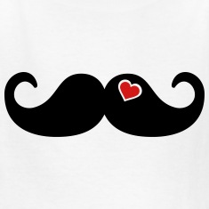 Mustache Beard Kids' Shirts