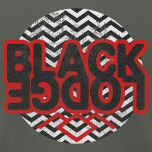 Twin Peaks: Black Lodge T-Shirts - Men's T-Shirt by American Apparel