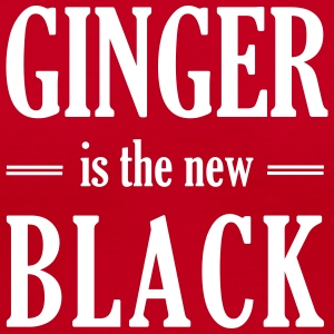 Ginger is the new black Women's T-Shirts - Women's V-Neck T-Shirt