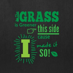 The Grass Is Greener This Side Bags & backpacks - Tote Bag