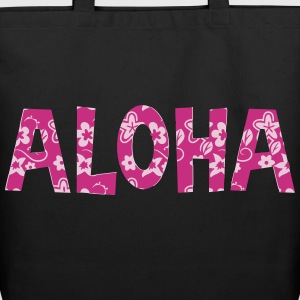 aloha flower pattern Bags & backpacks - Eco-Friendly Cotton Tote