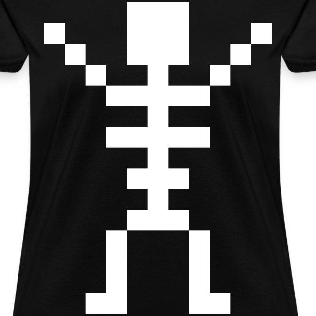 Happy Skeleton - Women Shirt