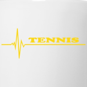 Tennis - pulse Bottles & Mugs - Coffee/Tea Mug