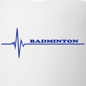 Badminton - pulse Bottles & Mugs - Coffee/Tea Mug