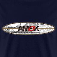 Design ~ AMOK - tribal breaker surfboard