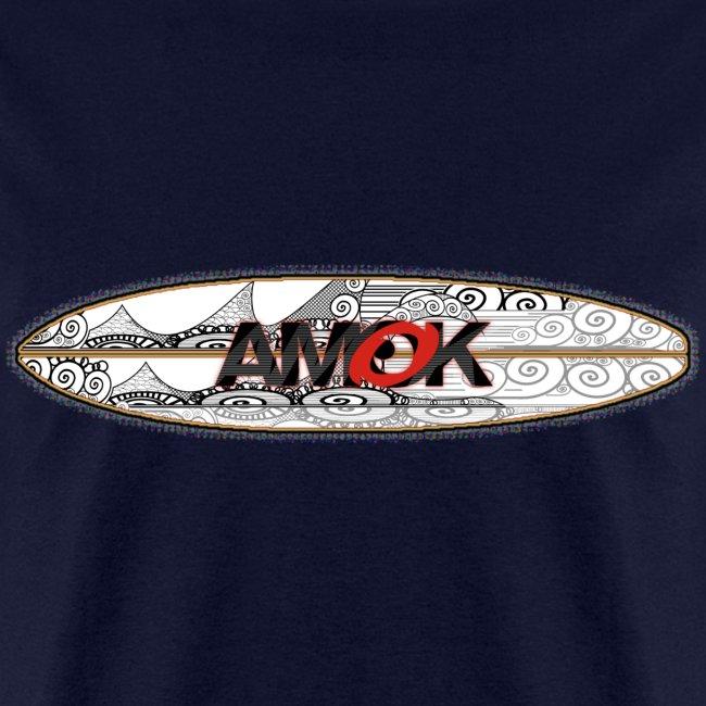 AMOK - tribal breaker surfboard