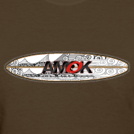 Design ~ AMOK - tribal breaker surfboard