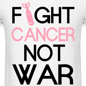 fight_cancer T-Shirts - Men's T-Shirt