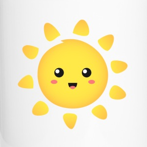 cute and happy sunshine Bottles & Mugs - Travel Mug
