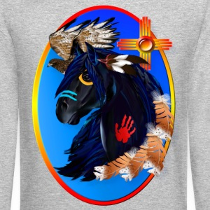 Black Stallion of Morning - Crewneck Sweatshirt