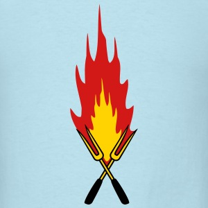 Barbecue Fire T-Shirts - Men's T-Shirt