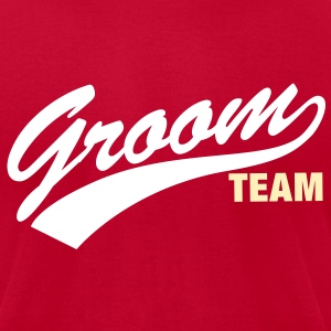 Groom Team - Men's T-Shirt by American Apparel